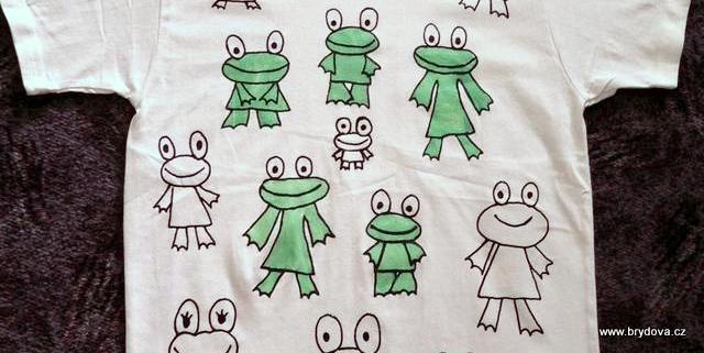 Žabí triko