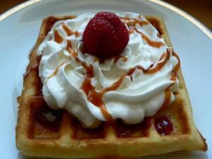 Vafle - dva sladké recepty