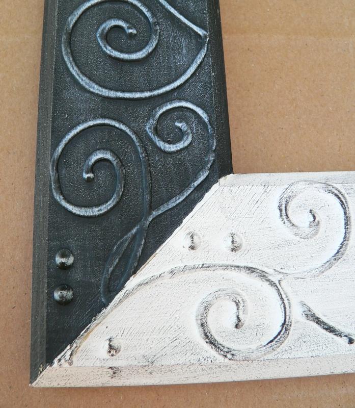 Malovaná patina