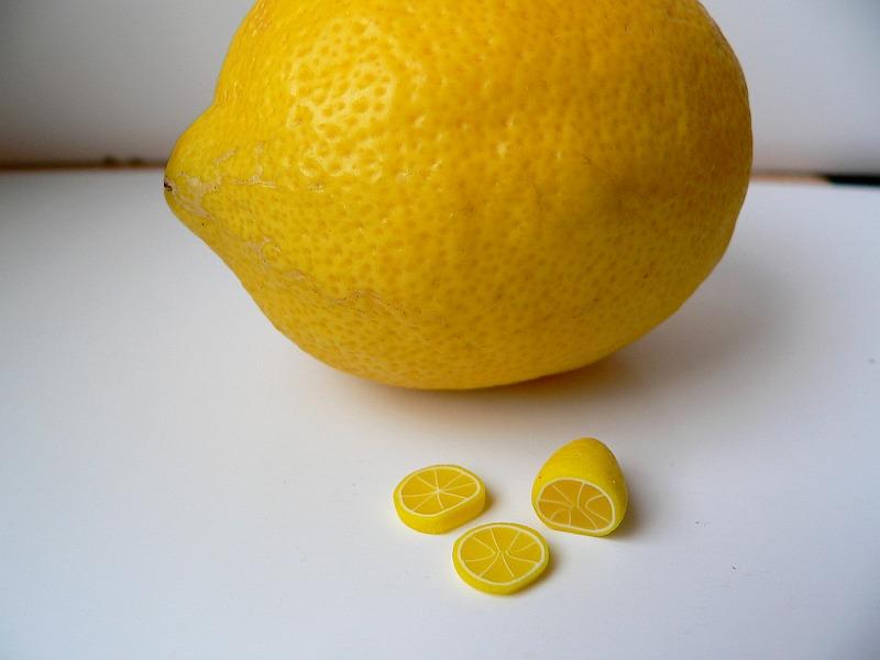 Fimo citrón