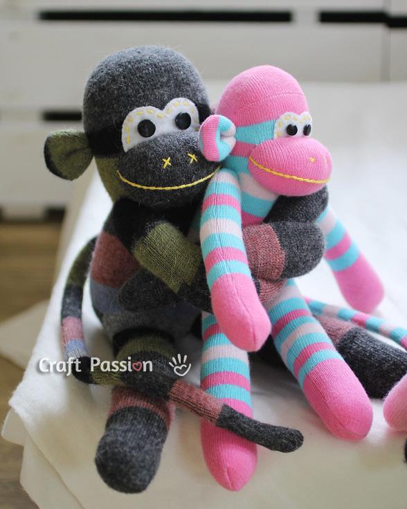 28 Diy Crochet Sock Monkey
