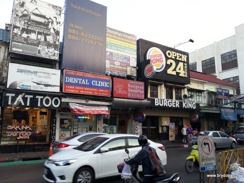 Thajsko – 3.díl – Bangkok – Khao san road