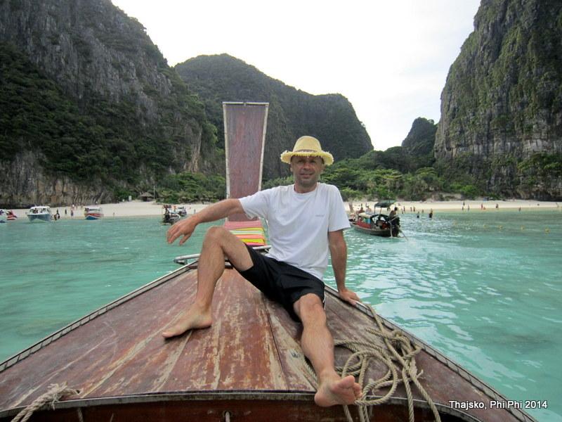 Thajsko – 16.díl – Maya beach a šnorchlování