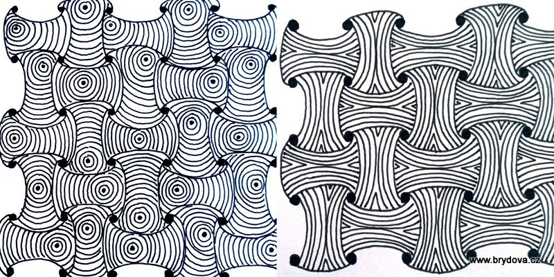 Zentangle – Funls