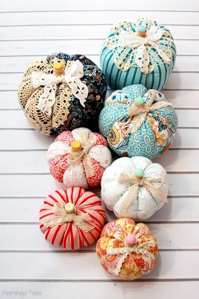 Easy-Fall-Fabric-and-Lace-Pumpkins